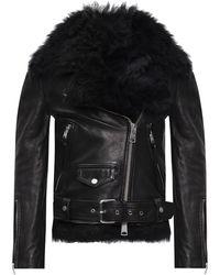AllSaints 'luna' Jacket With Detachable Vest Black