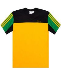 adidas Originals Logo T-shirt Multicolor - Yellow