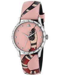 Gucci Le Marché Des Merveilles Watch - Pink