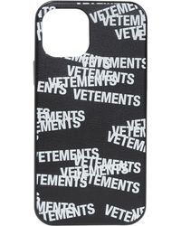 Vetements Iphone 12 Pro Case - Black