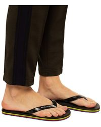 PS by Paul Smith Flip-flops With Logo - Black