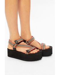 Burberry Platform Sandals Black