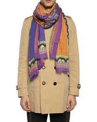 Etro Patterned Scarf Multicolour