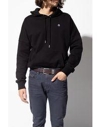 DIESEL 'b-guarantee' Leather Belt - Brown