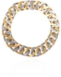 Givenchy Brass Necklace Gold - Metallic