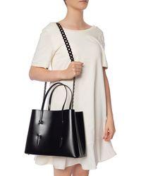 Alaïa Leather Shoulder Bag Black