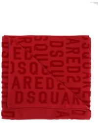DSquared² Bath Towel - Red