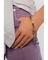 Jacquemus Chain Bracelet Gold - Metallic