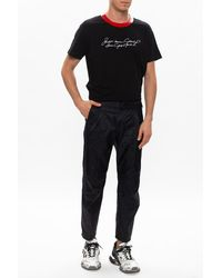 Givenchy Patterned T-shirt Black