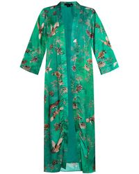 AllSaints 'carine' Kimono Green
