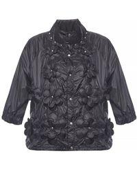 862643bf3 Moncler Genius 6 Noir Kei Ninomiya Cropped Appliquéd Quilted Shell ...
