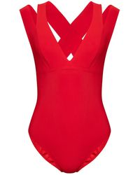 Pain De Sucre One-piece Swimsuit - Red