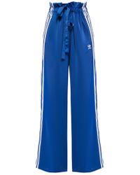 adidas Originals Tie-up Track Trousers - Blue