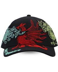 DIESEL Embroidered Baseball Cap Unisex Black