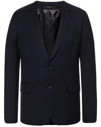 Paul Smith Woollen Suit Navy Blue