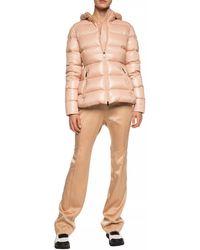 Moncler Side Stripe Sweatpants Beige - Natural