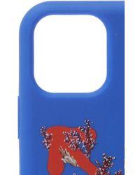 Off-White c/o Virgil Abloh Corals-print Iphone 11 Case - Blue