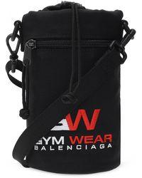 Balenciaga 'weekend' Shoulder Bag Black