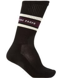 AMI Long Socks - Black