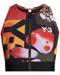Y-3 Swimsuit Top - Multicolour