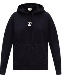 Zadig & Voltaire Logo Hoodie - Black
