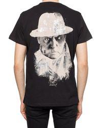 DIESEL Printed T-shirt For Vitkac - Black