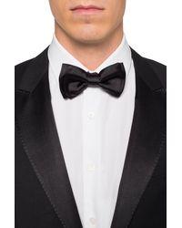 Ferragamo Silk Bow Tie Black