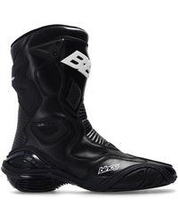 Balenciaga 'tyrex' Biker Boots Black