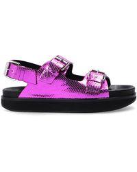 Isabel Marant - 'ophie' Sandals Purple - Lyst