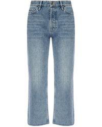 AllSaints 'helle' Cropped Jeans Blue