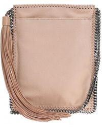 80967c7b1e Lyst - Stella McCartney Falabella Metallic Shoulder Bag in Metallic