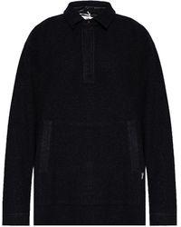 Eytys Textured Sweatshirt - Black
