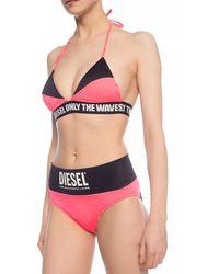 DIESEL Swimsuit Top Pink
