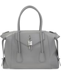 Givenchy 'antigona' Shoulder Bag - Grey