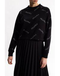 Fila Sweatshirt With Logo Black