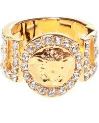 Versace - Medusa Head Ring - Lyst