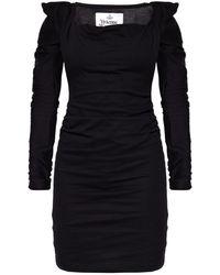Vivienne Westwood - Long-sleeve Dress Black - Lyst