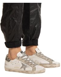 Golden Goose Deluxe Brand 'superstar' Distressed Trainers White