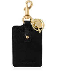See By Chloé Luggage Tag With Logo - Black