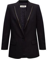 Zadig & Voltaire Appliquéd Blazer Black