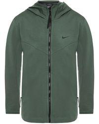 Nike Logo Tech Jacket - Green