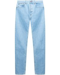 A.P.C. Jeans With Tapered Legs - Blue