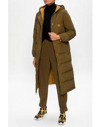 KENZO Reversible Coat Green