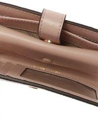 Michael Kors Leather Wallet - Natural