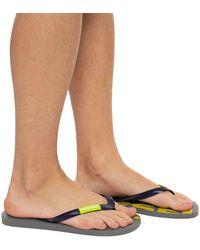 DIESEL Flip-flops With Logo - Blue