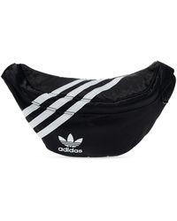adidas Originals Branded Belt Bag Black