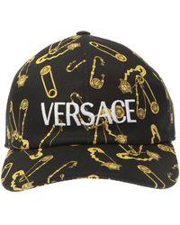 Versace Medusa Head Baseball Cap Unisex Navy Blue