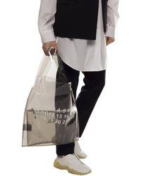 Maison Margiela Translucent Shopper Bag Black