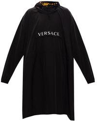 Versace Rain Cape Black