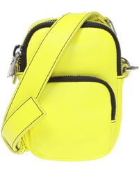 McQ Pouch With A Shoulder Strap - Yellow